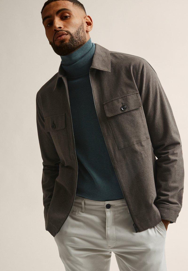 Bläck - RICHARD  - Light jacket - greige melange
