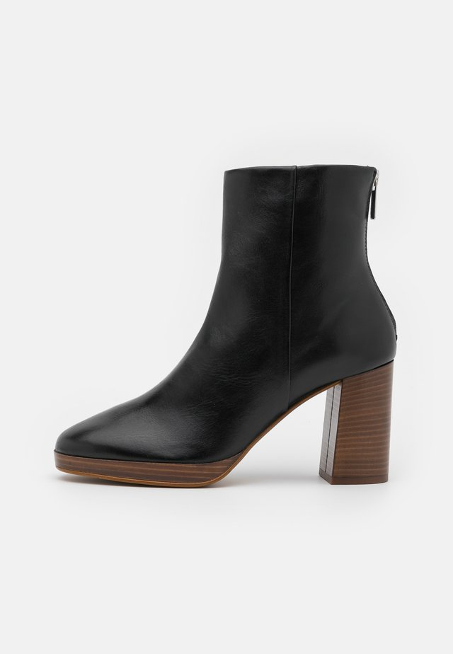 PICASSO - High heeled ankle boots - noir