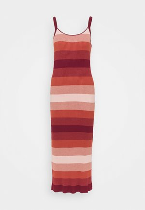 STRAPPY COLUMN OMBRE - Maxi dress - pink multi
