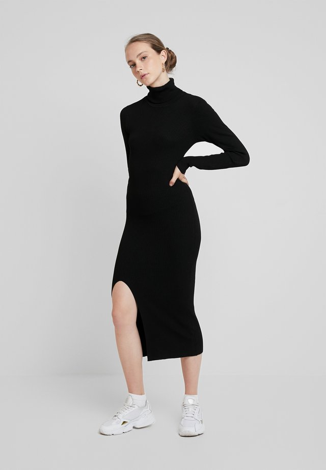 YASSBIRIELLA ROLLNECK DRESS - Tubino - black
