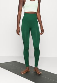 Even&Odd active - SEAMLESS - Leggings - green - 0