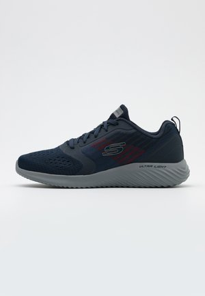 BOUNDER - Sneaker low - navy/charcoal