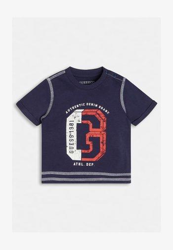 LOGO - T-shirt print - blau