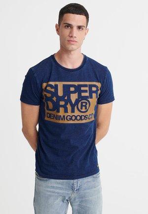 Print T-shirt - indigo