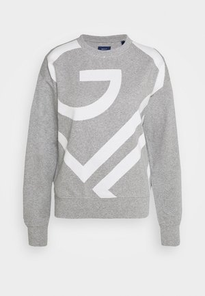 ICON C NECK - Felpa - grey