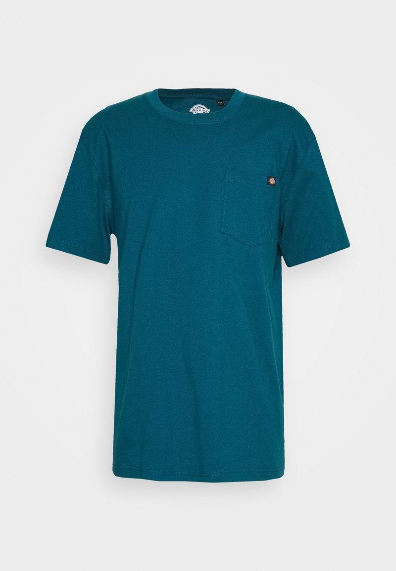 Dickies - PORTERDALE POCKET - Basic T-shirt - coral blue