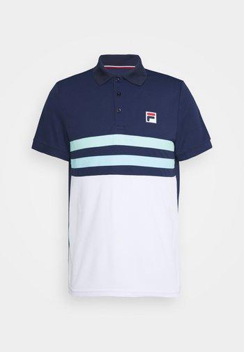 NELIO - Polotričko - peacoat blue/white