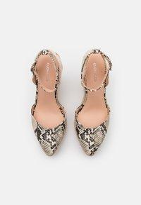 Even&Odd - Platform sandals - beige/brown - 5