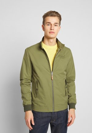 Summer jacket - green stone