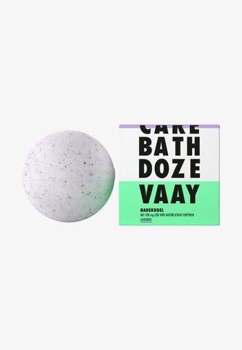 CBD BATH BOMB LAVENDER - Bubble bath & soak - -