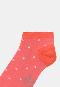 s.Oliver - ONLINE JUNIOR PATTERNED 7 PACK - Socks - hot coral - 2