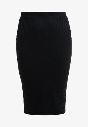 CURVE MIDI SKIRT - Pencil skirt - black