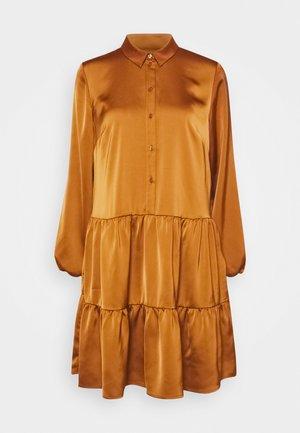 DRESS - Shirt dress - chai