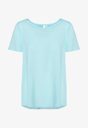 BLUSE - KURZE ÄRMEL - T-shirts basic - tiffany