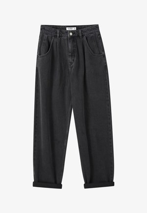 SLOUCHY - Relaxed fit jeans - black