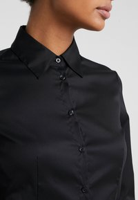 HUGO - THE FITTED - Chemisier - black - 5
