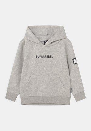SPOTS UNISEX - Sweater met rits - grey mellee