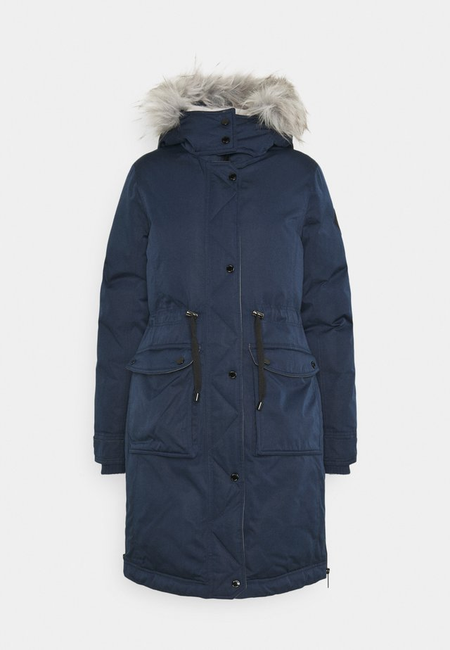 ELEVATED  - Down coat - navy