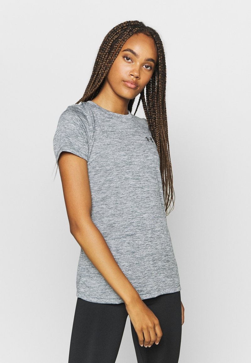 Under Armour - TECH TWIST - Basic T-shirt - pitch gray