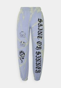 NEW girl ORDER - OR SINNER TIE DYE  - Tracksuit bottoms - lilac - 0