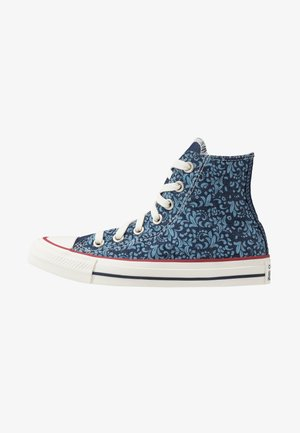 CHUCK TAYLOR ALL STAR - Sneakersy wysokie - obsidian/egret