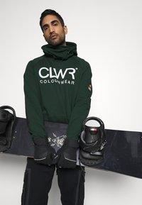 COLOURWEAR - BOWL HOOD - Sweater - green - 3