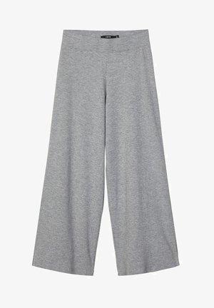 MIT WEITEM BEIN - Trousers - grey melange