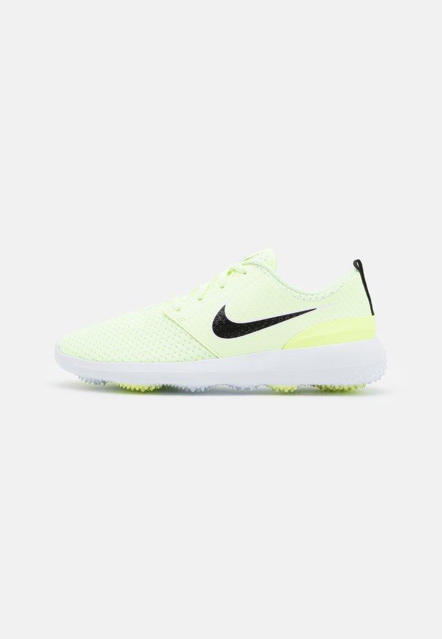 ROSHE G - Chaussures de golf - barely volt/black/white