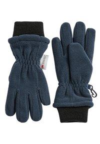 Next - NAVY FLEECE GLOVES (OLDER) - Gloves - blue - 0
