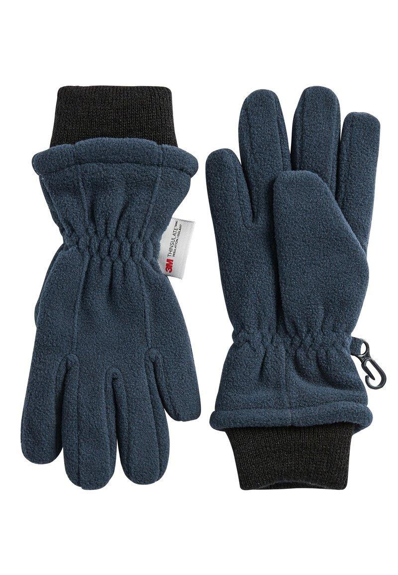 Next - NAVY FLEECE GLOVES (OLDER) - Gloves - blue