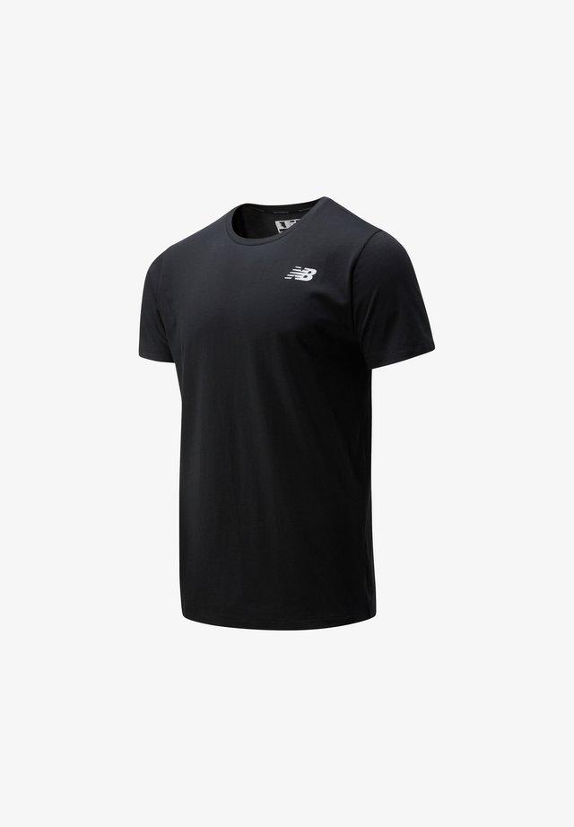 HEATHERTECH TEE - T-shirt print - black