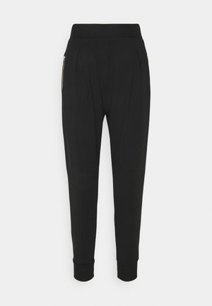 ARCIGNO PANTALONE INTERLOCK STRETCH - Tracksuit bottoms - black