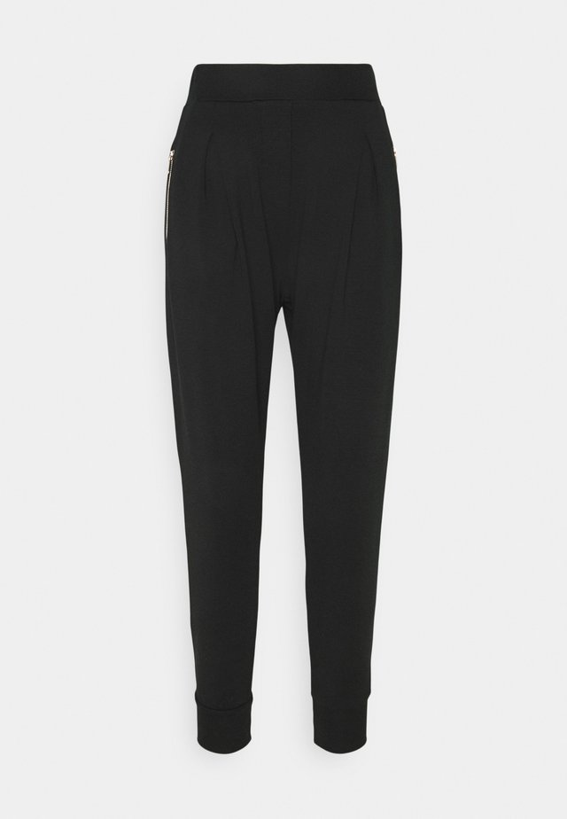 ARCIGNO PANTALONE INTERLOCK STRETCH - Pantaloni sportivi - black