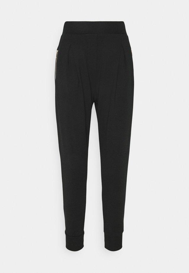 ARCIGNO PANTALONE INTERLOCK STRETCH - Spodnie treningowe - black