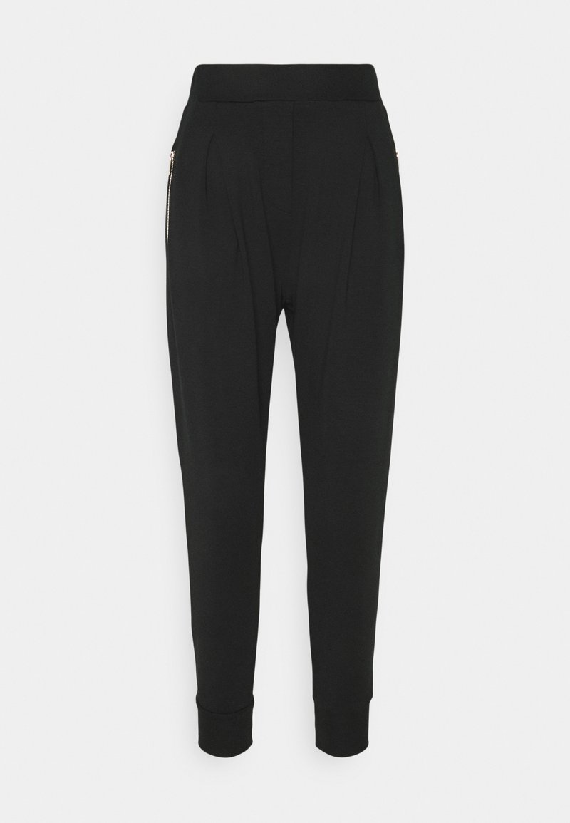Pinko - ARCIGNO PANTALONE INTERLOCK STRETCH - Tracksuit bottoms - black