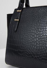 New Look - MARLEY CROC TOTE - Borsa a mano - black - 6