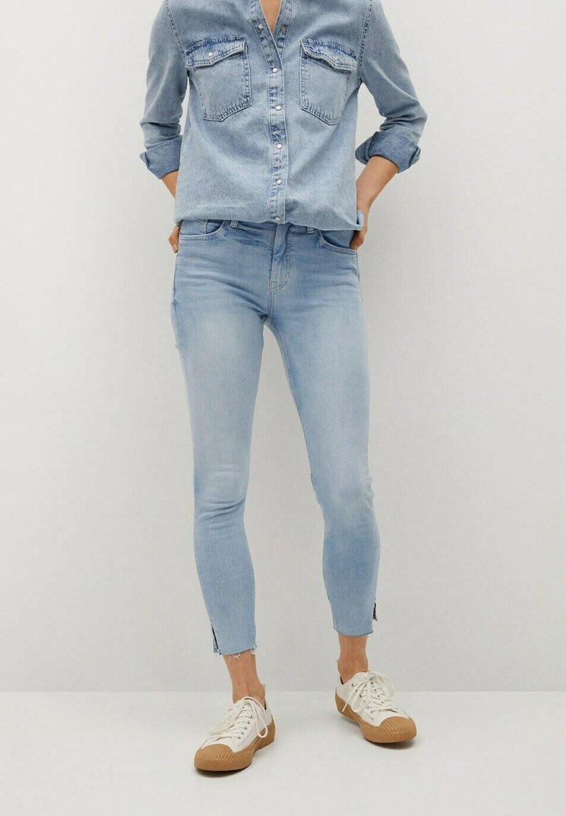 Mango - ISA - Jeans Skinny Fit - lichtblauw