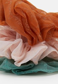 Pieces - PCSLOANE OVERSIZED SCRUNCHIE 3 PACK - Hair Styling Accessory - candy pink/orange/green - 1