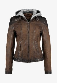 Gipsy - CASCHA LAMOV - Leather jacket - antic brown - 5