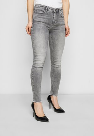 ONLBLUSH LIFE MID - Jeans Skinny Fit - grey
