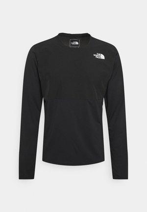 TRUE RUN - T-shirt à manches longues - black