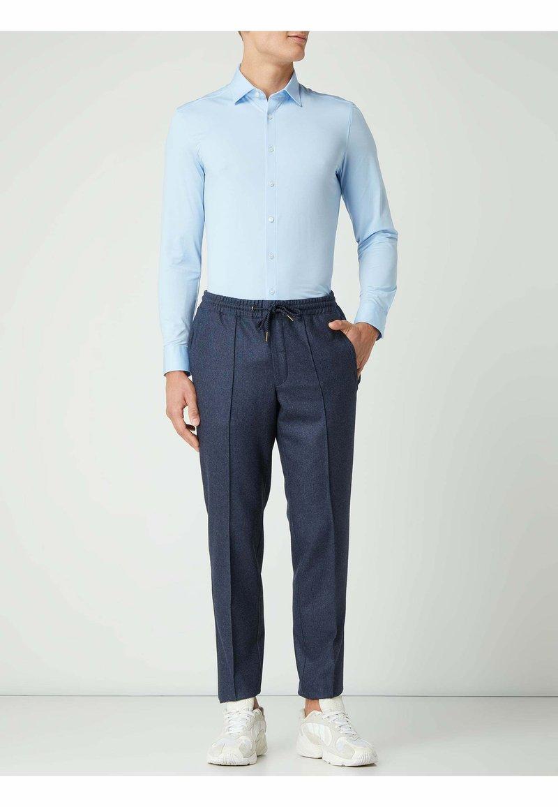 OLYMP No. Six - SUPER SLIM FIT BUSINESS HEMD - Formal shirt - bleu