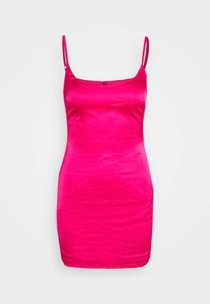 PETITE SLIP DRESS - Vestido de tubo - hot pink