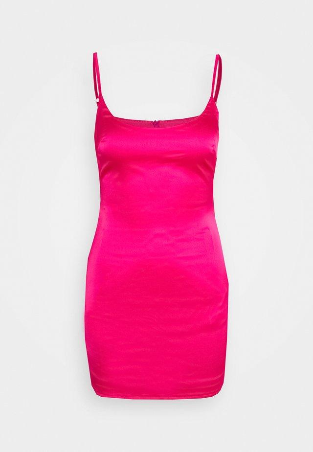 PETITE SLIP DRESS - Tubino - hot pink
