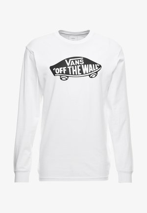 LONG SLEEVE - Longsleeve - white/black