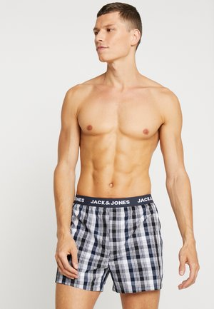 JACWOVEN 3 PACK - Boxer shorts - navy