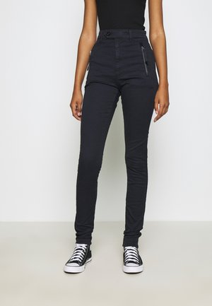 WELD HIGH SLIM CHINO WMN - Jeans Skinny Fit - mazarine blue