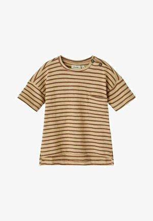T-shirt print - semolina
