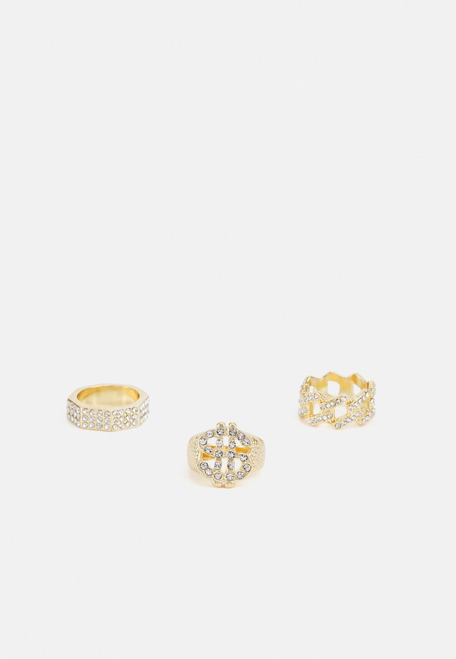 DOLLAR 3 PACK - Anello - gold-coloured