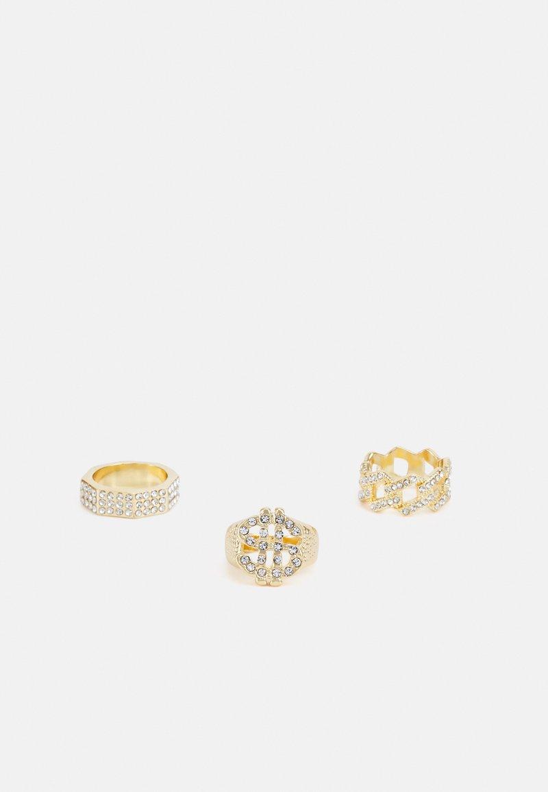 Urban Classics - DOLLAR 3 PACK - Ring - gold-coloured